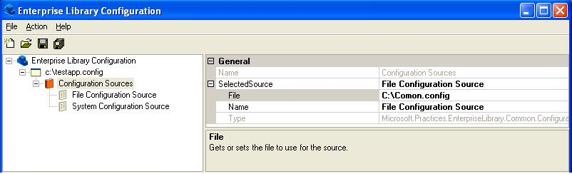 Sample base config to share config setting across several App.Connfig files