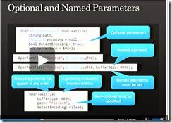 named optional parameters