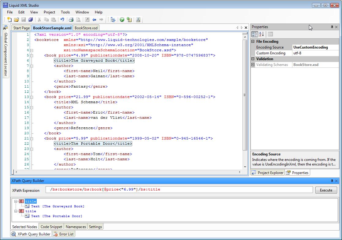 Building XPath Queries