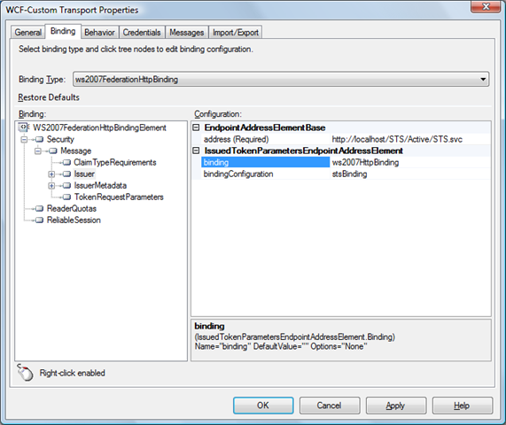 Calling a service with federated identity from BizTalk Server [2009