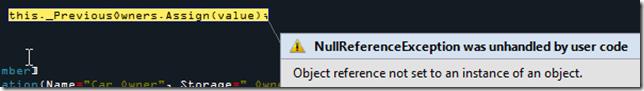 NullRef