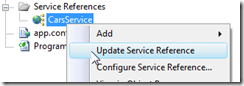 UpdateServiceReference