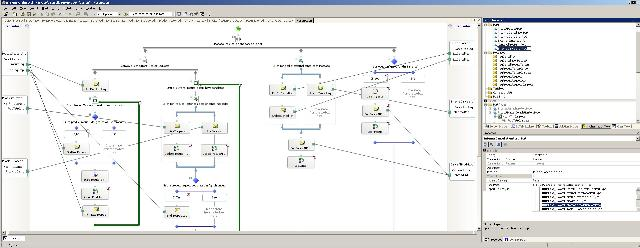 Widescreen shot of a BTS 2004 Project in VS.NET