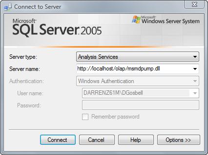 sql server analysis