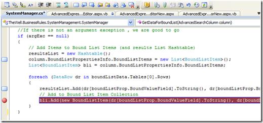 Visual Studio Bookmarks