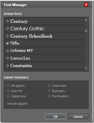 add a Fonts folder in your project and place all font files within it