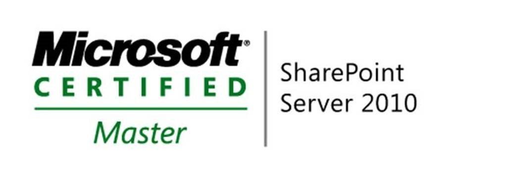 Microsoft Certified Master