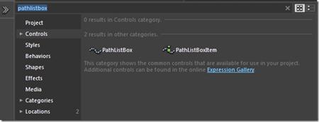 PathListBox Control