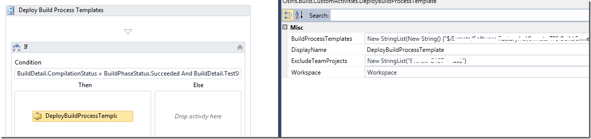 Managing Build Process Templates In Tfs 2010 Build Blog Ehn Nu