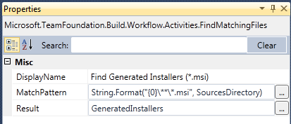 Tfs build binaries folder variable