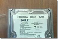 Label new disk before inserting into empty bay