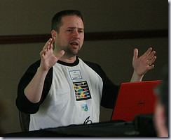 Jeff Blankenburg presenting