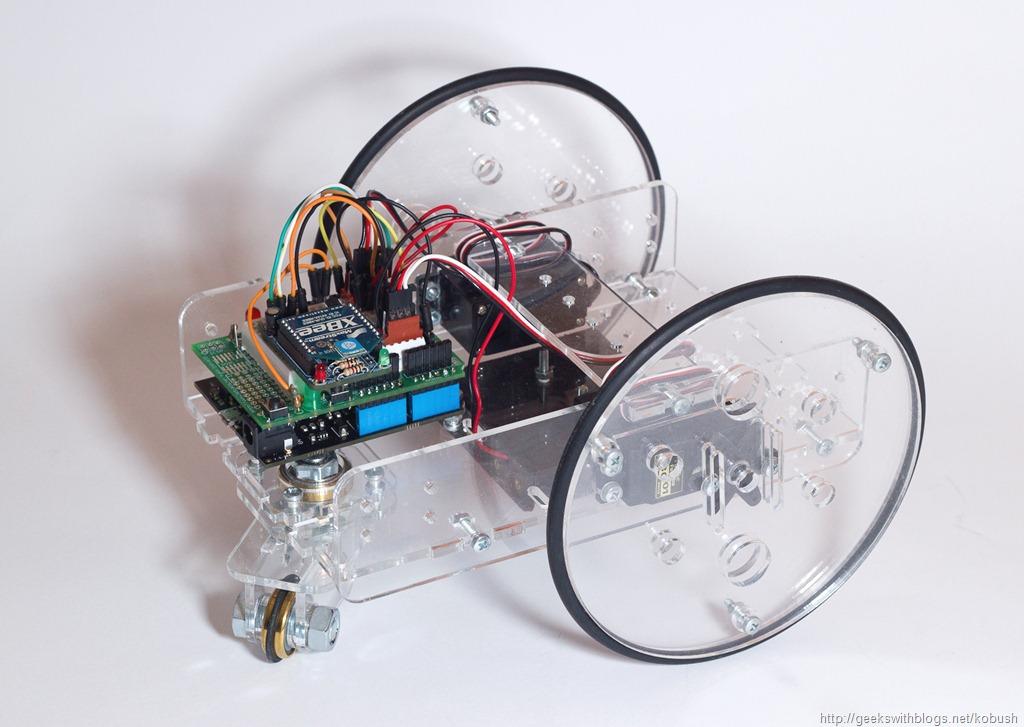 Micro framework netduino controlled servo robot