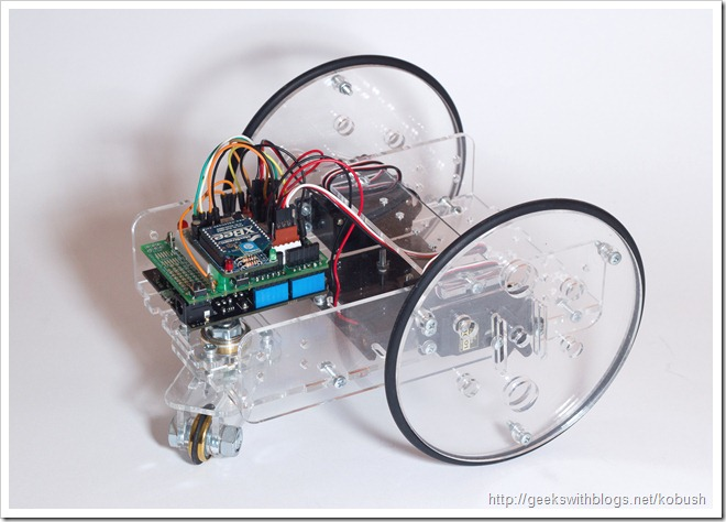 Netduino Controlled Servo Robot