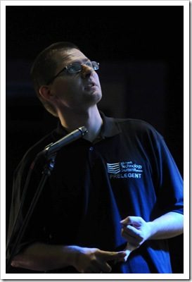 Speaking at MTS 2008