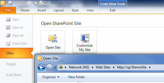 Sharepoint change home page layout