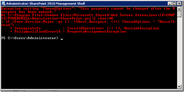 sp2010mgmtshell