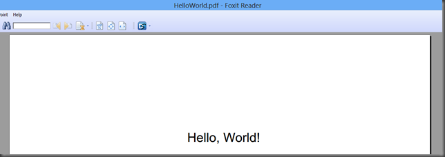 helloworld