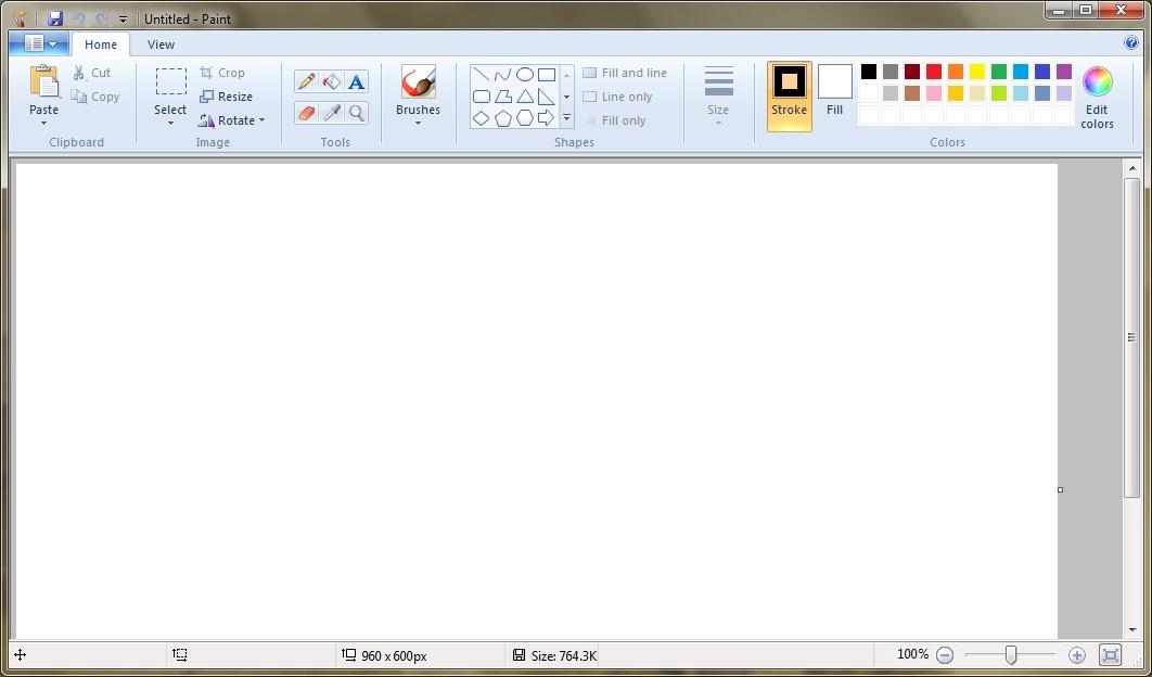 Paint Windows 7 Dagormessage