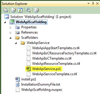WebApiScaffold-nuget-solexpl