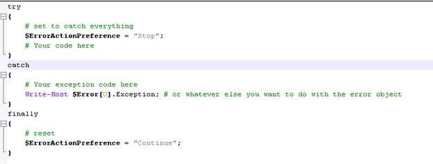 how to catch a standard error shell script
