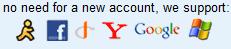 Buxfer login options