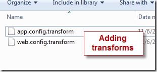 transform files