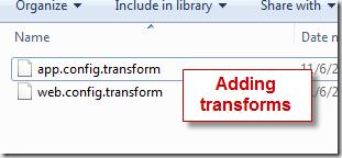 transform files