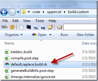 default.replace.build.rb. Ya. Ruby