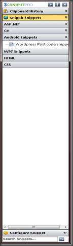 snipit toolbar