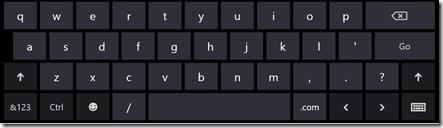 "Windows 8 ""url"" keyboard"