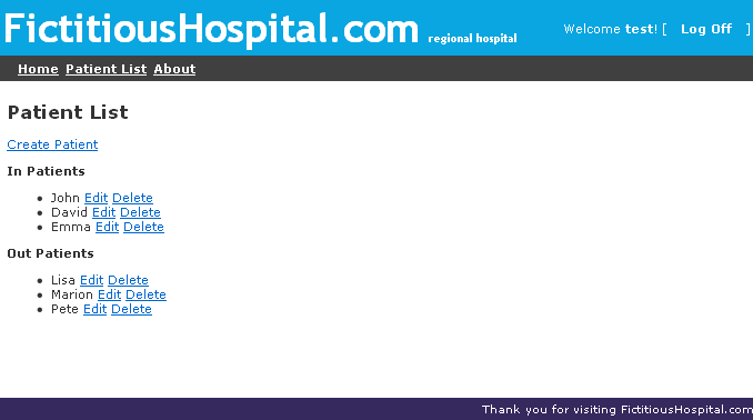 fictitioushospital