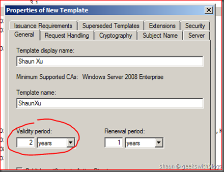 Working with active directory certificate service via c for example we can have the client authenticate in the application policies extension which we had specified in code in previous sample yelopaper Gallery