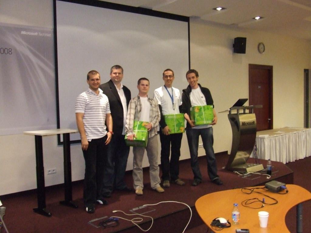 HP TEAM - Win The Web Contest