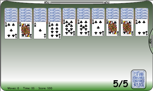 Silverlight Solitaire