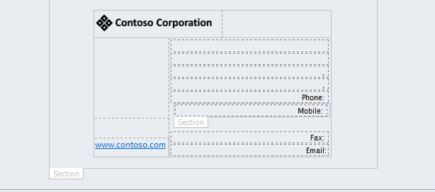 Creating the business card request infopath form you will notice i also used sections within the form these show or hide depending on options selected or whether or not fields are colourmoves