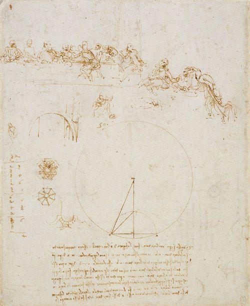 Il Cenacolo - First Sketch