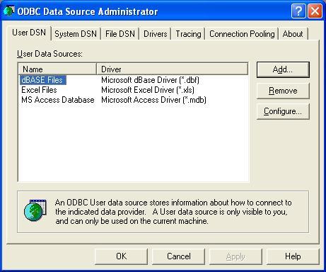 BizTalk 2009 ODBC Adapter Schema Generation - User DSN