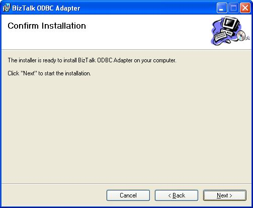 BizTalk 2009 Community ODBC Adapter - Confirm Installation
