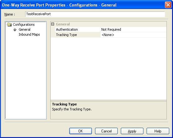 BizTalk 2009 ODBC Adapter Receive Location - Port