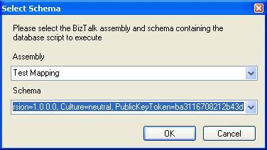 BizTalk 2009 ODBC Adapter Receive Location - Request Schema