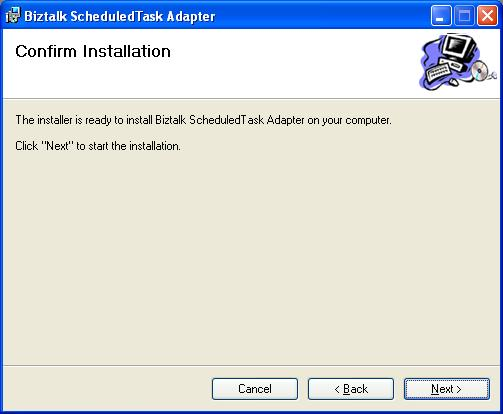BizTalk 2009 Scheduled Task Adapter - Confirm Installation