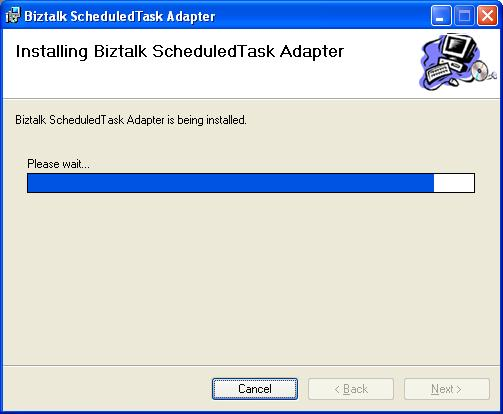 BizTalk 2009 Scheduled Task Adapter - Installing