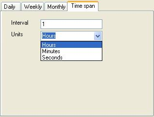 BizTalk 2009 Scheduled Task Adpater Receive Location - Time Span Schedule