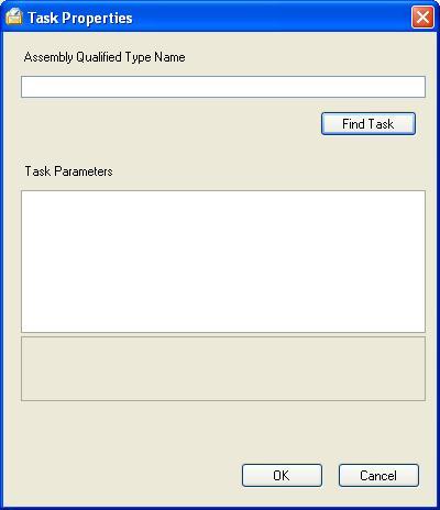 BizTalk 2009 Scheduled Task Adpater Receive Location - Task Properties