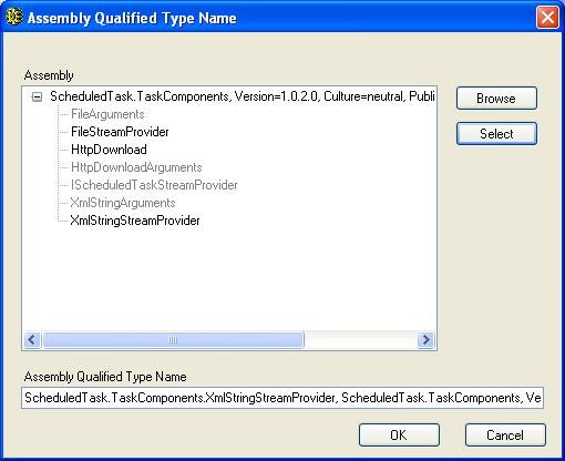 BizTalk 2009 Scheduled Task Adpater Receive Location - Assembly Type Name Update 2