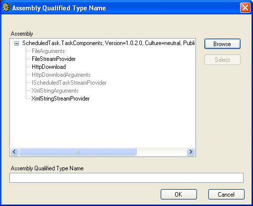 BizTalk 2009 Scheduled Task Adpater Receive Location - Assmbly Type Name Updated