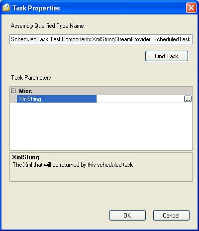 BizTalk 2009 Scheduled Task Adpater Receive Location - Task Properties Updated