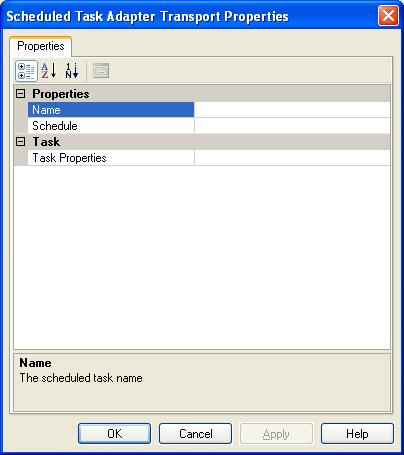 BizTalk 2009 Scheduled Task Adpater Receive Location - Adapter Properties