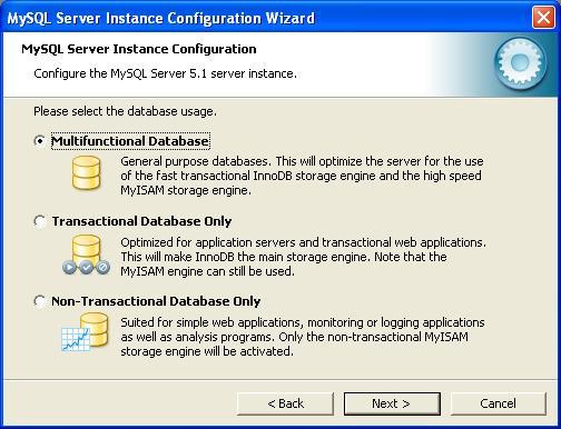 MySQL Configuration - Instance 2